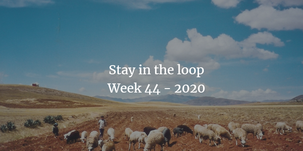 Stay in the loop: Week 44 - 2020