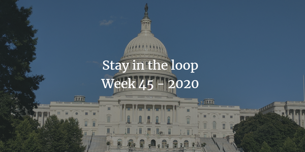 Stay in the loop: Week 45 - 2020